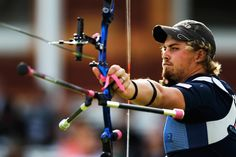 """The top-ranked archer in the world going into the London Games, Brady Ellison, 23, says he had to make some changes in preparing for the Olympics. He quit chewing tobacco — """"not the healthiest habit,"""" he says — so he could become a better role model for aspiring athletes in the sport."""