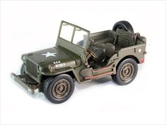 diecastmodelswholesale - Jeep Willys USA Army Green 1/4 Ton 1/32 Diecast Model by New Ray, $9.99 (http://www.diecastmodelswholesale.com/jeep-willys-usa-army-green-1-4-ton-1-32-diecast-model-by-new-ray/)
