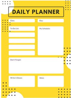 7348f0696bb54f Customize Planner templates online - Page 4. Calendar Template