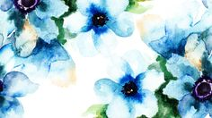 flowers-brushed-blues-watercolor-summer-abstract-spring-floral-paint-blue-wallpaper-windows-7-flower.jpg (1920×1080)