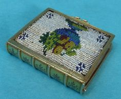 Very Rare Early French 18ct Gold Beaded Novelty Sewing Needle Case      sold for $850.
