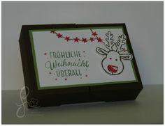 Split Top Box. In diese Verpackung kannst Du Kleinigkeiten verpacken, Anhänger verschenken oder auch einen Gutschein für etwas Schönes verstauen.