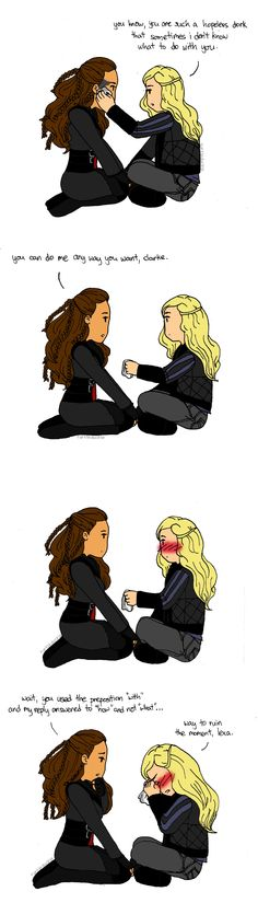 Clarke & Lexa #clexa - How you get the girl (step 4) - Do