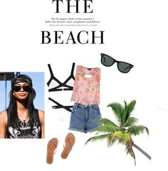 """""""The Beach"""" by screwtheworld ❤ liked on Polyvore"""