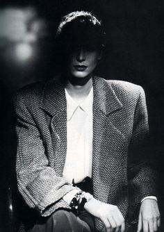 Giorgio Amani, American Vogue, September 1987. Photograph by Aldo Fallai.