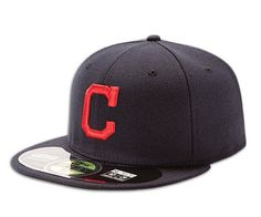 New Era 59Fifty MLB Cleveland Indians Hat AC on Field Alternate Fitted Hat