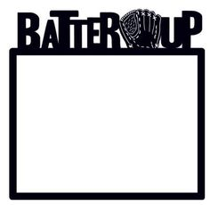 Creative Imaginations - Batter Up Die Cut Paper