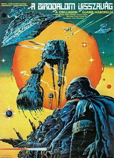 The Empire Strikes Back official Hungarian movie poster by Helényi Tibor (1982) | Flickr - Photo Sharing!