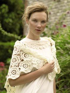 rowan holiday crochet riva shawl