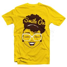 No matter what comes your way, this shirt is here to remind you to never lose your smile. This too shall pass! #SmileOn  T-Shirt Quality:100% combed and ring-spun cotton (means it's durable AND soft!)