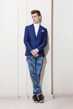 Zara Men printed pants