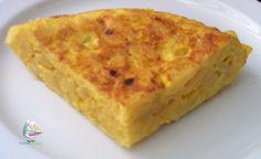 Receta de tortilla de patatas casera