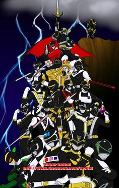 Black rangers Power Ranger Black, Green Ranger, Power Rangers In Space, Go Go Power Rangers, Kamen Rider, Vr Troopers, Dance Movies, Disney Channel Shows, Mighty Morphin Power Rangers