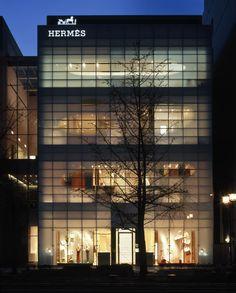 Hermès Midosuji store, Osaka.
