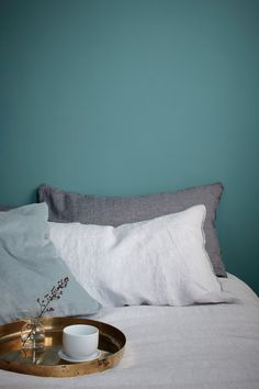 Nautical but nice, Maritime Teal is just the shade to bring tranquility to your bedroom scheme.