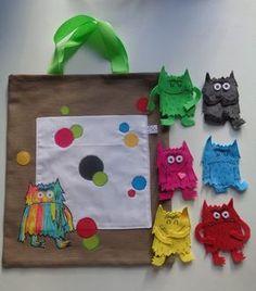 Sac à album - Le monstre des émotions - Au fond de mon sac Monster Activities, Halloween Activities, Book Activities, Toddler Preschool, Toddler Activities, Drama For Kids, Emotional Awareness, Social Emotional Development, Crochet Monsters