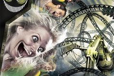 The Smiler - a very cool new rollercoaster at Alton Towers.