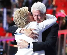 Hillary Clinton and Bill Clinton 2016 Democratic Convention