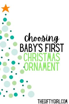The first Christmas with your new baby is SO exciting. It is wonderful to commemorate and remember baby's first Christmas with an ornament that will always hang on your Christmas tree. I looked around and found The BEST Baby's First Christmas Ornaments that will be perfect to remember this special holiday.