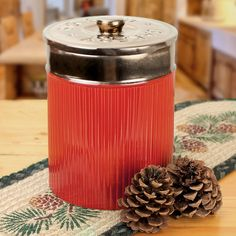 """Big Shot"" Shotgun Shell Canister/Cookie Jar - American Expedition"