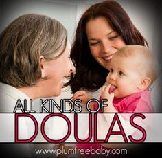 """This article describes of """"All Kinds of Doulas"""" #PlumtreeBaby"""