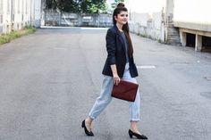 Slow Fashion: My Vintage Pinstripe Blazer - Jäckle und Hösle