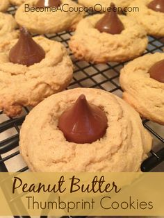 I am always looking for easy recipes that my boys can help me with in the kitchen. If you are, too, you will want print, pin, or bookmark this one. I'm talking about the delicious Peanut Butter Thumbprint Cookies! #SundayRecipeWrapUp