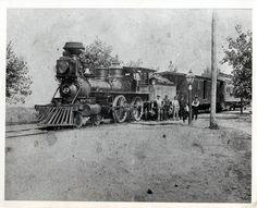 Lake Erie And Detroit River Railroad Locomotive 1885 Colchester Essex, Essex County, Digital Archives, Lake Erie, Great Lakes, Locomotive, Old Photos, Ontario
