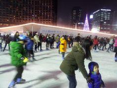 Ics skating in Seoul!!!!!Yohooooooooo^♥^ #kpophouse