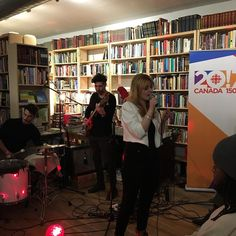 One more song from @jenngrantmusic at #cbcpopup. She will be back in #ottawa at @nac.cna on March 25th.
