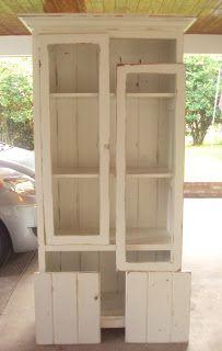 diy gun cabinet