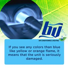 Yellow flame has other implications such as leaks in the chimney or vent, rust in the pipes, carbon monoxide diffusion, and more. Give your technician a call after you noticed a yellow flame on the burner. Pipes, Diffuser, Rust, Infographic, The Unit, Yellow, Information Design, Gold