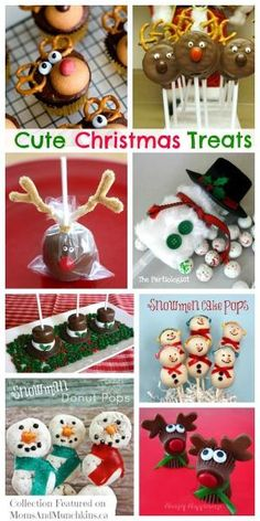 Cute Christmas Treats - perfect Christmas party food for kids! by carmen