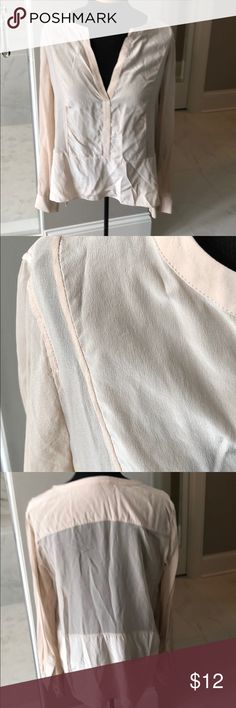 Very nice top(needs ironing) BCBG top size large, like new. BCBGMaxAzria Tops Blouses
