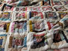this is making me want to make my first quilt. i think i might preshrink and iron all my fabric this week so i can make one when i'm on holidays after christmas.