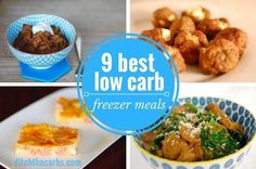 These are my favourite low carb freezer meals. Learn to love your freezer and love low carb freezer meals. Make life easy and double up recipes the easy way