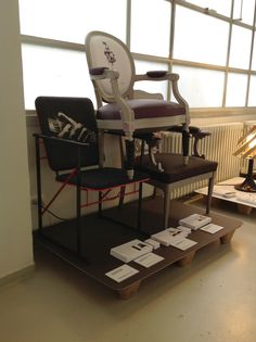 """the Drawing Room Chair at """"Meet My Project"""", Milan Fuorisalone 2012"""