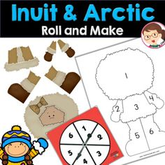 Winter Activities Arctic Inuit Life Preschool... by Primary Creations by Mrs Garza | Teachers Pay Teachers