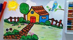 Kolay Ev ve Manzara Çizme & Boyama - Çocuklar İçin - Netya Çocuk VİDEOYU İZLE: https://www.youtube.com/watch?v=AjRSIlW2Cek #resim #resimçiz #kolayresim #çocuklariçin
