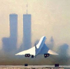 Concorde SST and World Trade Center towers: Both icons consigned to history.