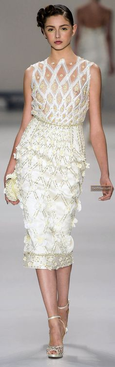 Samuel Cirnansck Sao Paulo Spring Summer 2014 >> love this. bridal shower, rehearsal dinner, breakfast/brunch