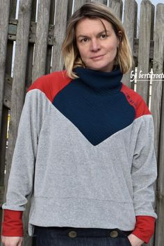 crearetro-retropulli-9 Raglan, Pullover, Retro Look, Sewing Ideas, I Shop, Turtle Neck, Sweaters, Pattern, Shopping