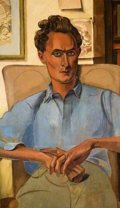 Stephen Spender (1909–1995), 1938 by Wyndham Lewis (1882-1957)