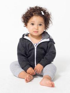 Infant Flex Fleece Zip Hoodie | Babies | New & Now's Kids & Babies | American Apparel