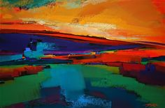 Michael McKee Abstract Landscape