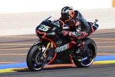 Vinales, Valencia MotoGP test, November 2016. MotoGP 2016