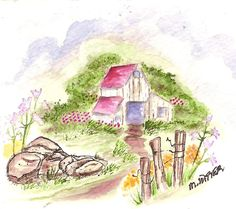 barn, rocks broken fence, greenery, flowers sells in a set or sets or individually. Made by Art Impressions Rubber Stamps. Can be purchased in a Set or individually. The Items can be purchased in my ebay Store Pat's Rubber Stamps & Scrapbooks or call me 423-357-4334 with order, or come by 1327 Glenmar Ave. Mt Carmel, TN 37645, Pat's Rubber Stamps & Scrapbook supplies 423-357-4334. We take PayPal. You get free shipping with the phone orders of $30.00 or more