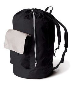 Take a look at this Black Laundry Carry Pack by homz on #zulily today! $7.99, regular 11.00