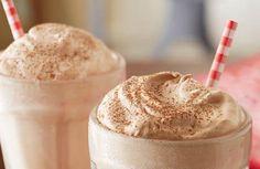 raspberry cappuccino milkshake