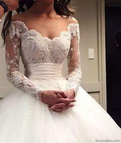 #Wedding #Weddingdress #Gowns #Gown #Bridal Charming Wedding Dresses (6)